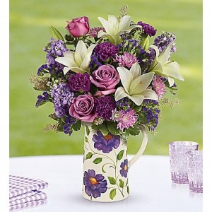 Garden Pitcher Bouquet by Carlson-Wildwood Flowers