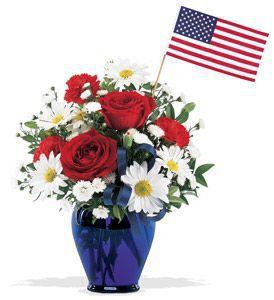Spirit of America Bouquet by Carlson Wildwood Flowers